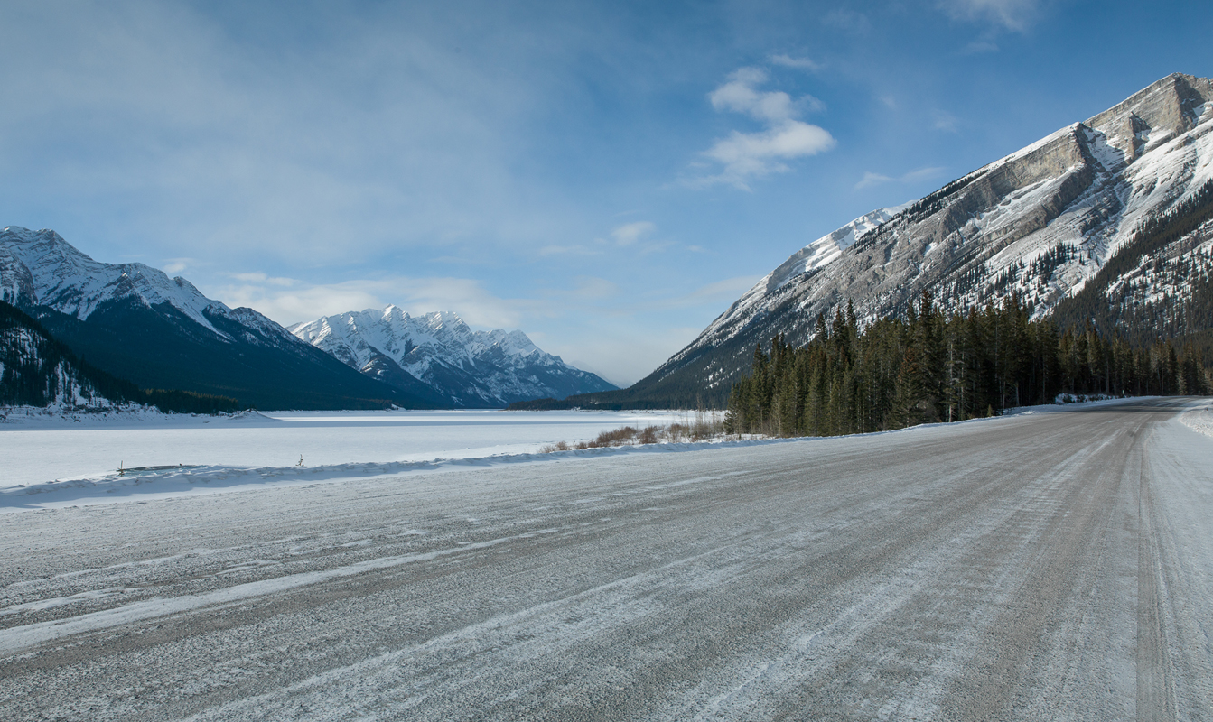Scenery, Canada, ice, Rocky Mountains